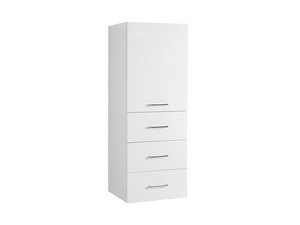BRAVA7 RIGHT WALL-HUNG COLUMN 45 GLOSSY WHITE