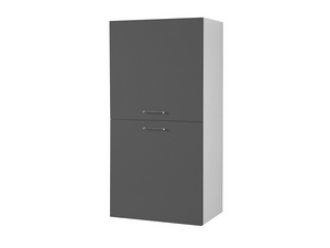 BRAVA9 LEFT WALL-HUNG COLUMN 60 ANTHRACITE GREYCITE