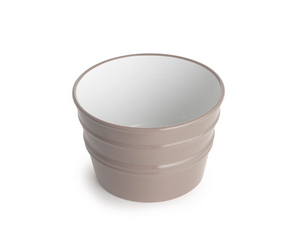 BACILE WASHBASIN cm.Ø46,5 H30 CLAY MATT