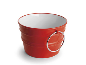 BACILE WASHBASIN cm.Ø46,5 H30 WITH RINGS RED