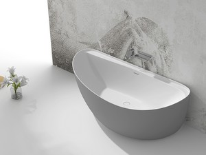 DROP SOLID SURFACE BATH BICOLOR 170x85xH55