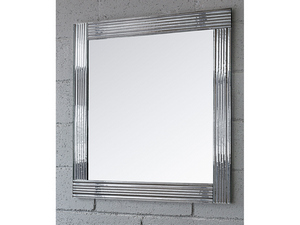 BATHROOM MIRROR LEONE BORDER CRYSTAL FUSO FINISH TRANSPARENT 96Hx69Lx2,5P