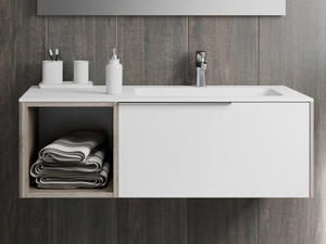 APP BATHROOM FURNITURE 108 WITH WASHBASIN RIGHT - SET A2