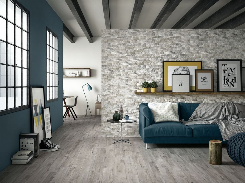 Wood Effect Porcelain Tile - Barrique