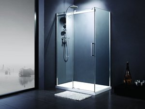 OXO2 SLIDING SHOWER ENCLOSURE 140X70 LEFT