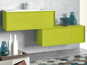 BRERA COLOR DRAWER 90x50x34 ACID GREEN