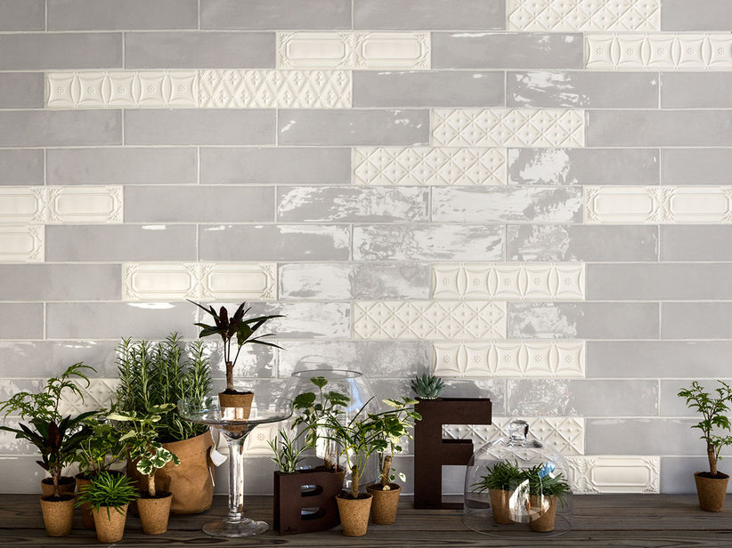 Brick effect wall tiles - Chelsea