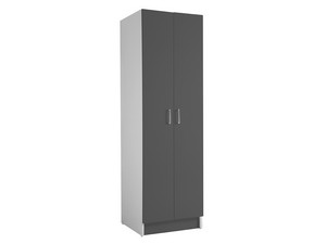 COLF5 COLUMN WITH CLOTHESLINE ANTHRACITE GREY