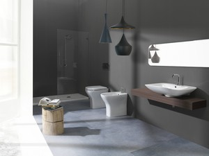 EVOLUTION FLOOR-MOUNTED BIDET H44 57x39