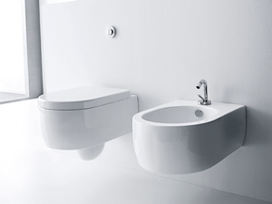 FLO WALL-HUNG PAN cm. 50x36 WHITE