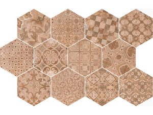 HEXAGONE COTTO DECO 21X18,2