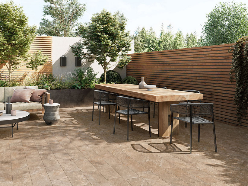 Outdoor Stone effect Porcelain Tile 20x40 - Himalaya