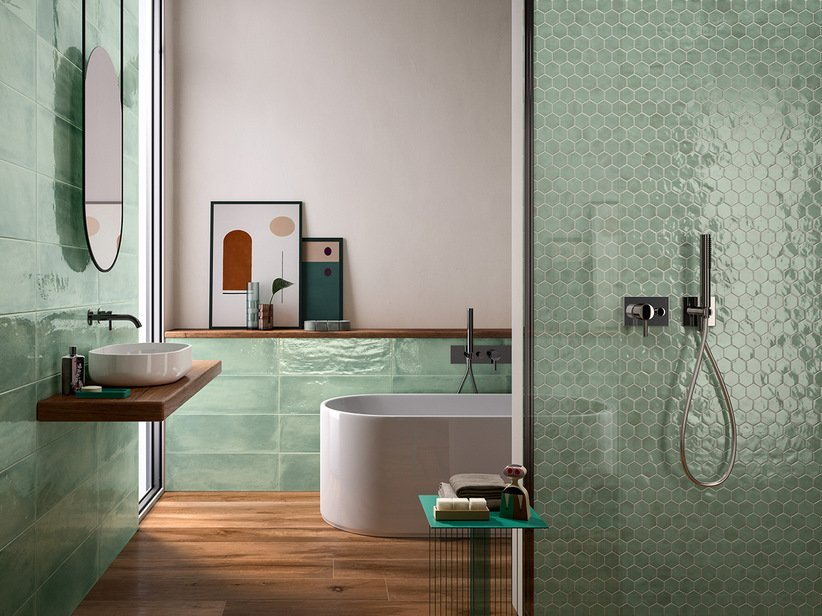 Colored wall tiles 20x60 - Intinta