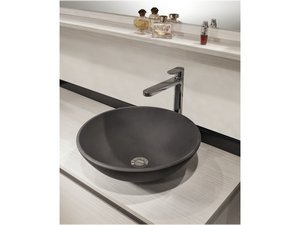 SEMISFERA DECORATIVE WASHBASIN Ø42 GREY CARNICO
