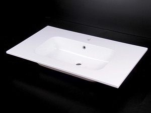 BATHROOM FURNITURE BRERA 90 TUNDRAWITH RESIN WASHBASIN PLANO WHITE