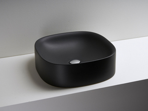 WILD COUNTERTOP WASHBASIN 45 BLACK MATT