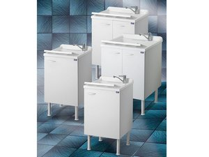 ARCOBALENO LAUNDRY SINK 45x50 LAMINATED WHITE