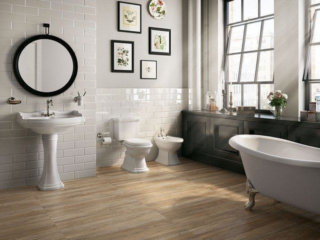Plank Porcelain Tile Wood Effect - Hurricane