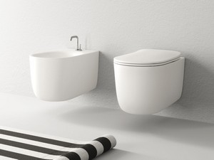 NOLITA WALL-HUNG PAN NO-RIM BIANCO OPACO