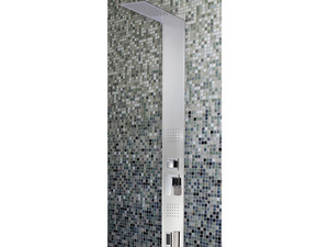 AQUO INOX SHOWER PANEL SMOOTH