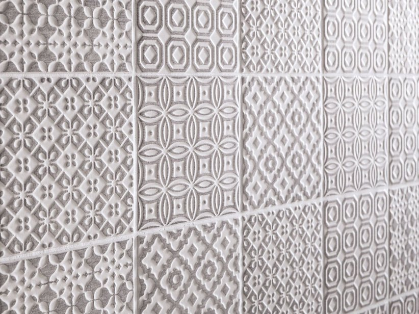 Patchwork Pattern Wall Tile - Batik