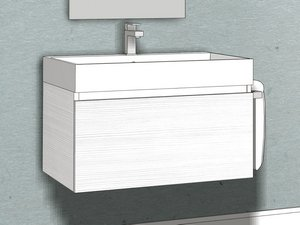 QUBO DRAWER 70 WHITE MATRIX