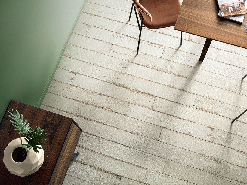 Stripped Wood Effect Porcelain Tile - Rebel