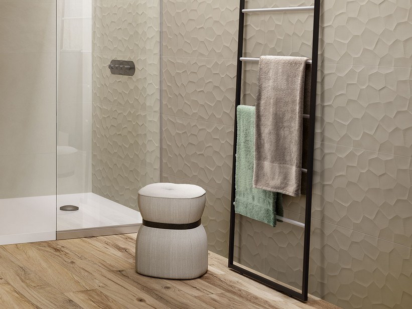 Rectified Refined and Trendy Wall Tiles - Rooms
