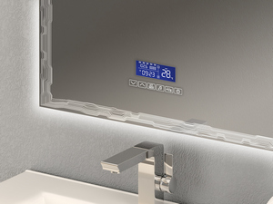 BATHROOM MIRROR LED BH UOVO 80x80