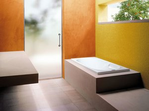 PROJECTA by JACUZZI® AIRA BATH WITHOUT FEET cm. 140X70 ACRYLIC WHITE