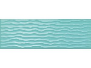 FRESH TURQUOISE WAVE LUCIDO 25X76