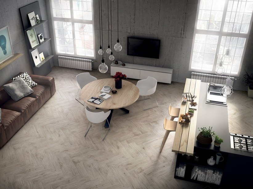 Oak Effect Porcelain Tile - Yosemite