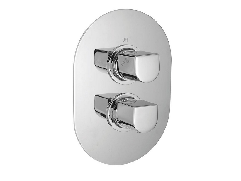INFINITY THERMOSTATIC SHOWER MIXER TRIM 2-WAYS