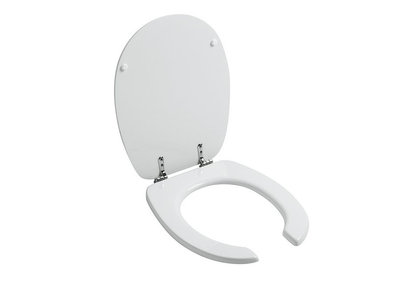 SANIT® UP TOILET SEAT THERMOSET WHITE