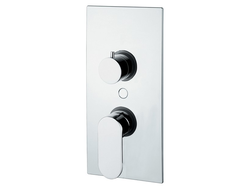 DONATELLA SHOWER PLATE TRIM WITH 3-WAY DIVERTER