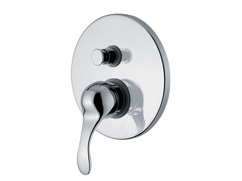 DELIZIA BATH/SHOWER MIXER PLATE CHROME