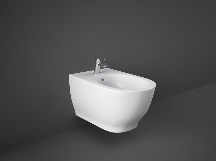 JACUZZI® GLOW WALL-HUNG BIDET cm. 56x36 HIDDEN FIXATION
