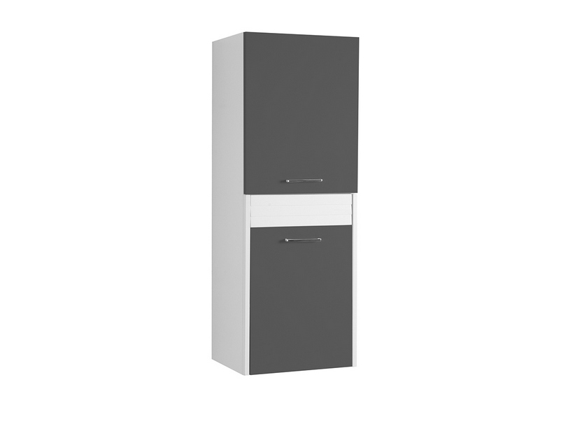 BRAVA5 RIGHT WALL-HUNG COLUMN 45 ANTHRACITE GREY
