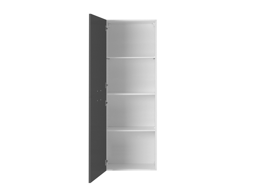 BRAVA6 LEFT WALL-HUNG COLUMN 45 ANTHRACITE GREY
