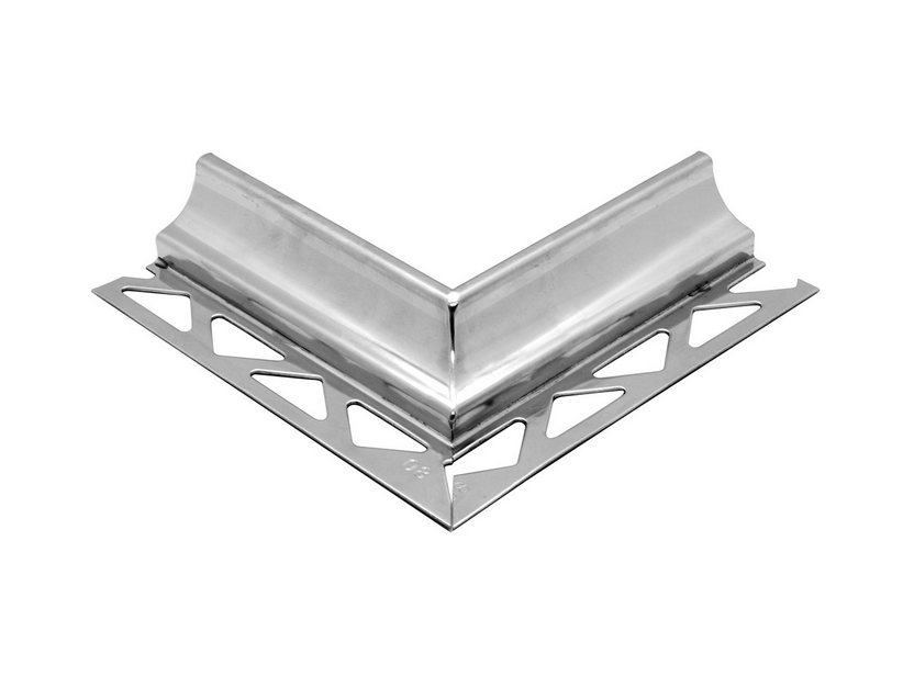 GBL COVE EXTERNAL CORNER INOX STEEL 10MM