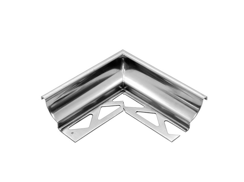 GBL COVE INTERNAL CORNER INOX STEEL 10MM