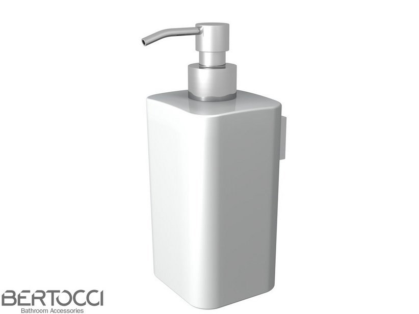 200 WALL CERAMIC DISPENSER WHITE
