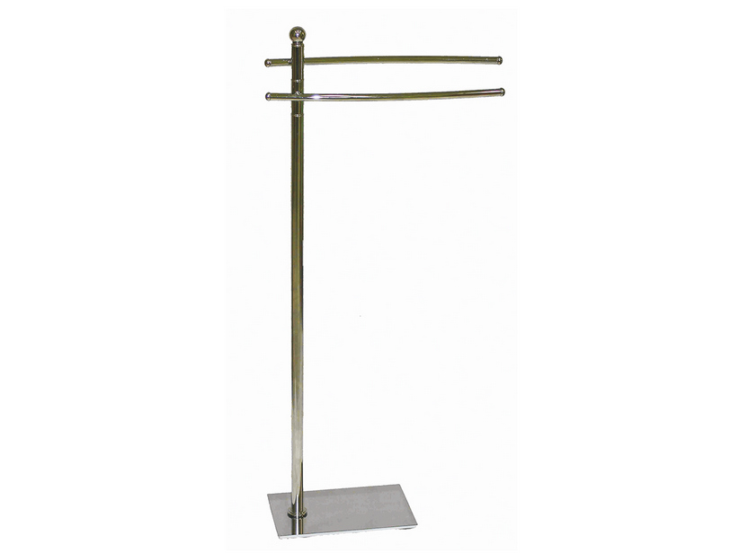 COVER FREESTANDING TOWEL RACK 3 ARMS CHROME BASE