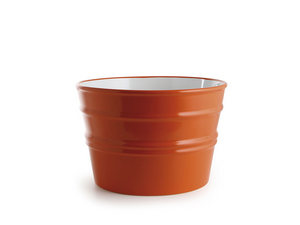 BACILE WASHBASIN cm.Ø46,5 H30 GLOSSY ORANGE