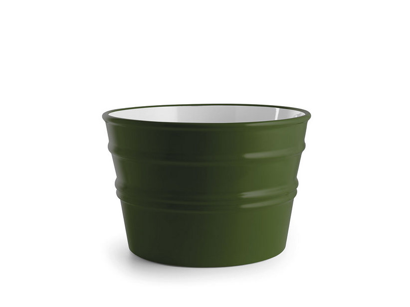 BACILE WASHBASIN cm.Ø46,5 H30 ENGLISH GREEN