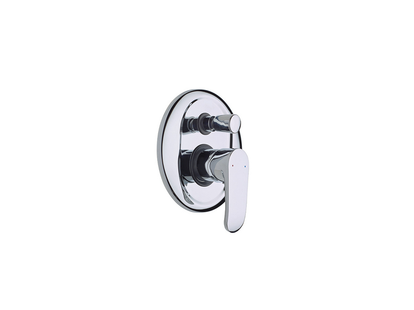 MYSTER SHOWER MIXER WITH DIVERTER CHROME