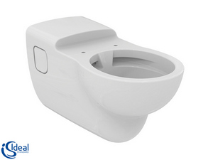 CONTOUR 21 RIMLESS DISABLE WALL-HUNG PAN