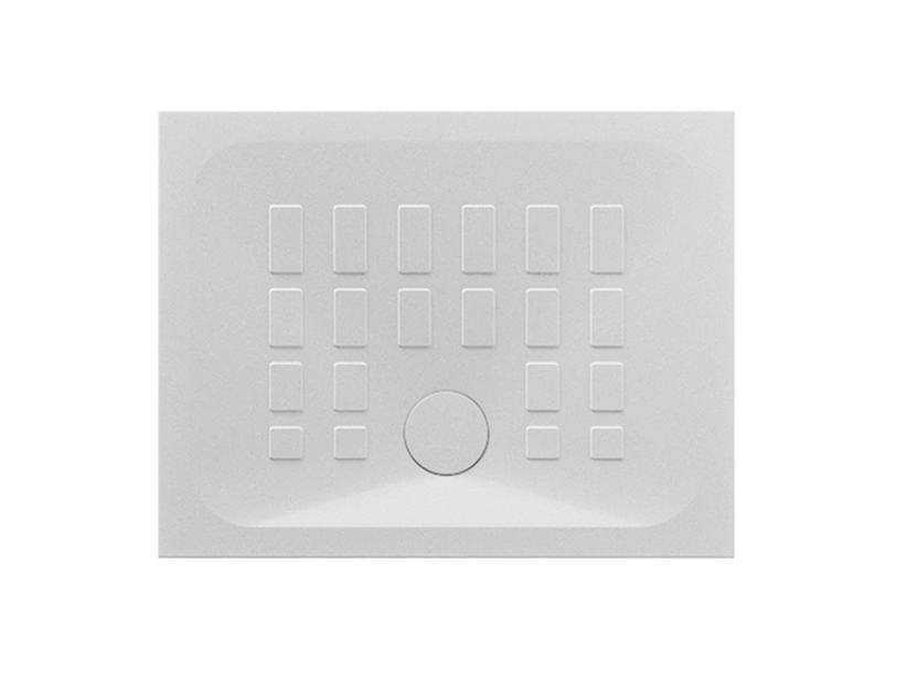 Shower Tray Qbit 90x70 H4 Ceramic White