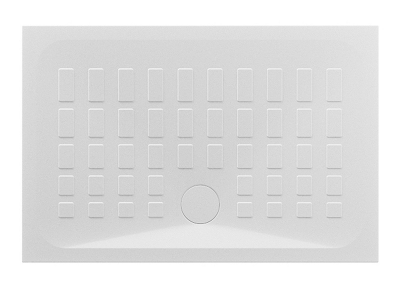 Shower Tray Qbit 120x80 H4 Ceramic White