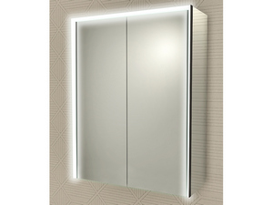 BATHROOM MIRROR LED BH CABINET 50x70 WITH 2 DOORS